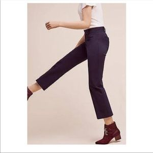 Anthropologie The Essential Flare Pants Sz 0